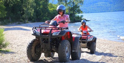 £29 for a Junior Speedboating + Quad Biking Experience
