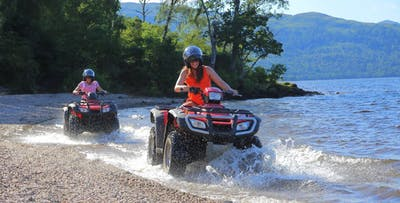 £39 for a Quad Biking Safari on Inchmurrin Island