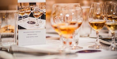 £35 for a Whisky Tasting Event on 13th October at Corinthian Club