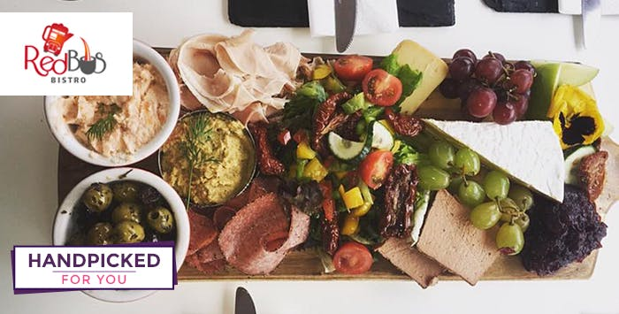 £30 for Deli Board with Wine + Glasgow Tour for 1