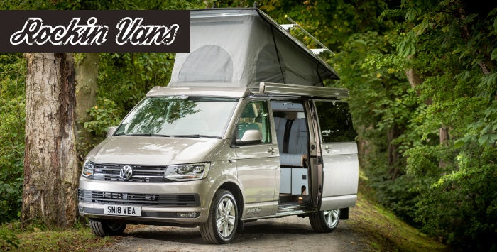 7d76b2cac2 4 Night Getaway in T6 VW Campervan for up to 4 from Rockin  Vans ››