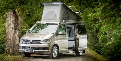 £259 for a 4 Night Getaway in T6 VW Campervan for up to 4