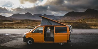 £257 for a 4 Night Getaway in T6 VW Campervan for up to 4