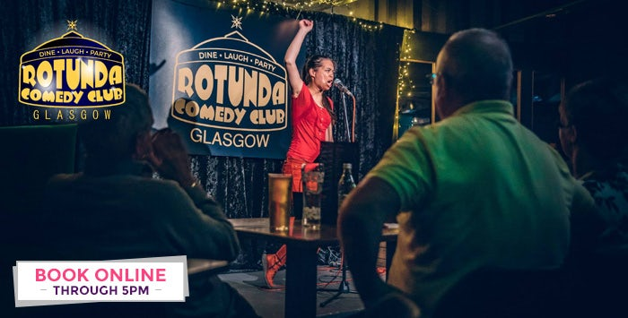 £20 for a Thursday or Friday Night Comedy Show Ticket + 2 Course Meal & Drink for 1