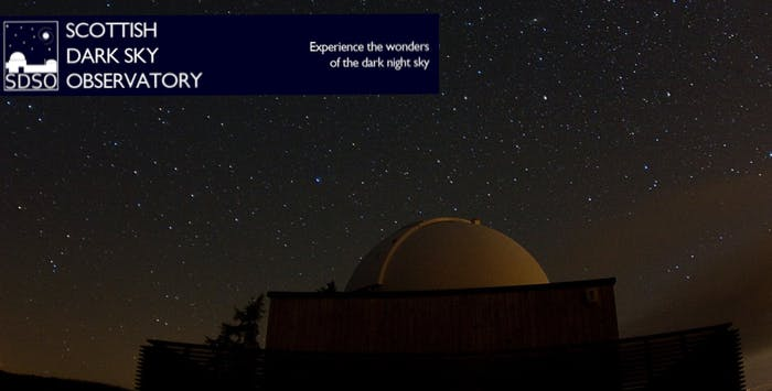 £19 for a Night Sky Experience for 2