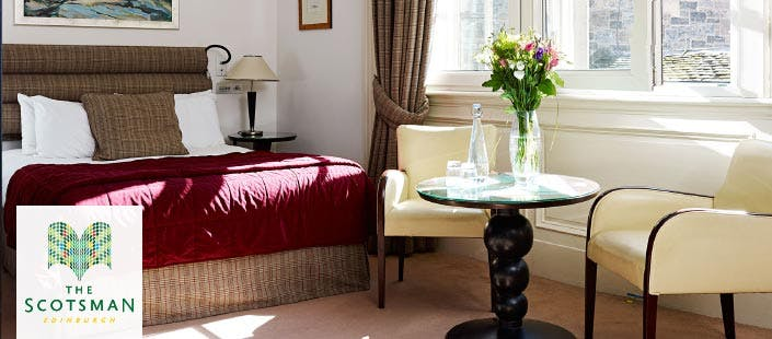 £199 for an Overnight B&B Deluxe Room Stay + 3 Course Lunch for 2