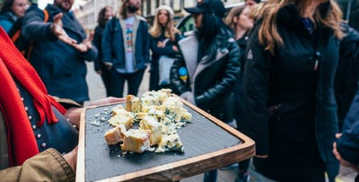 1 or 2 Tickets for The Edinburgh Cheese Crawl; from £15