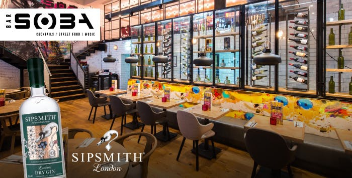 £15 for a Ticket to Sipsmith Gin Tasting Event on Thursday 27th September