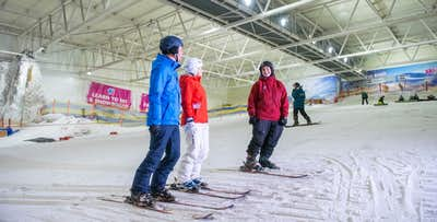 Ski & Snowboard Experience for 1 or 2 + Pizza; from £20