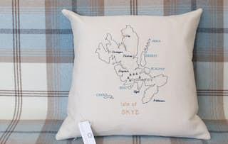 Scottish Islands Cushion