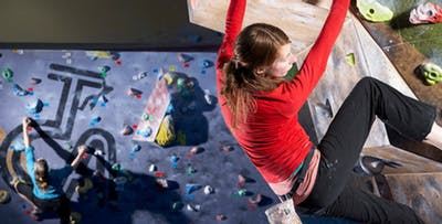 £13.50 for 3 Indoor Rock Climbing Sessions