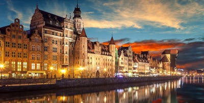 £219 per person for a 3 Night Stay in 3* Gdansk Hotel with Return Flights - Deposit Required