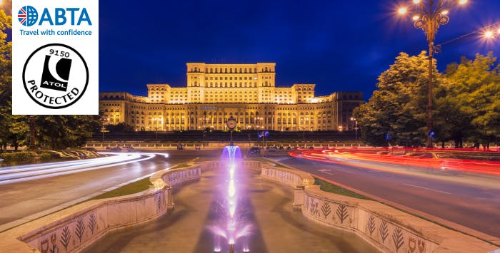 £239 for 3 Nights in Bucharest with Return Flights - Deposit Required