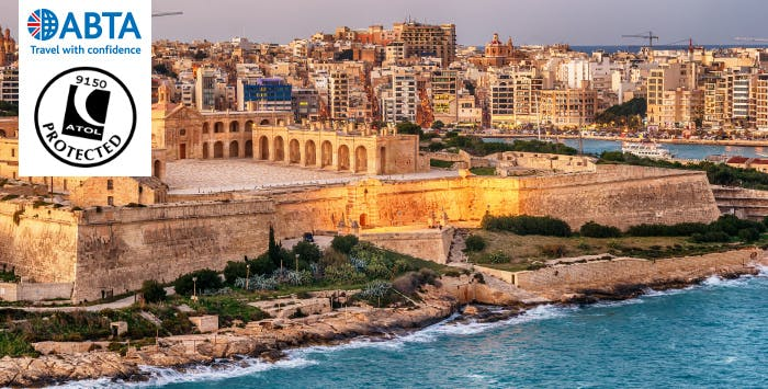 £299 for 4 Nights in Malta with Return Flights - Deposit Required