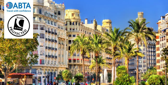 £225 for 3 Nights in Valencia with Return Flights - Deposit Required
