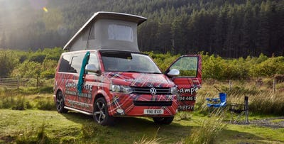 3, 4 or 7 Night VW Campervan Hire, from £239