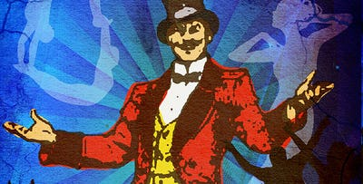 £25 for 1 Ticket to The Greatest Show + 2 Course Dinner & Glass of Wine at Committee Room No. 9