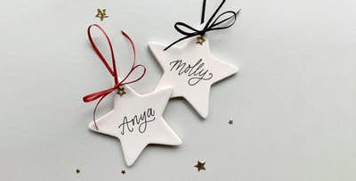 Personalised Christmas Crackers or Tree Decoration; from £5