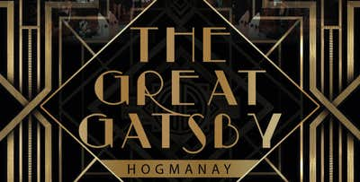 £12 for a Ticket to 'The Gatsby Mansion' Hogmanay Party
