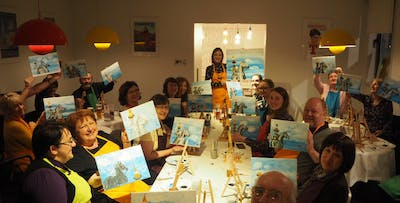 £25 for Pints and Painting for 1 with The Paint Club Scotland at Tennent's Wellpark Brewery - various dates