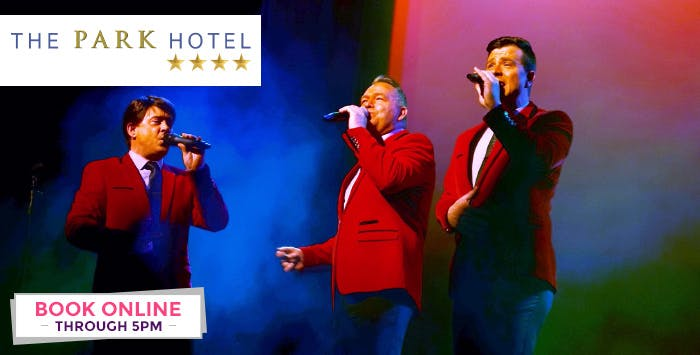 £95 for an Overnight Stay + Dinner for 2 with Tribute Show Tickets