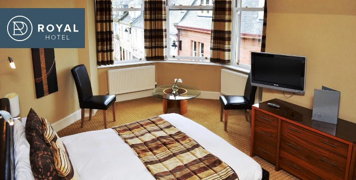 £59 for an Overnight B&B Stay with Dinner for 2