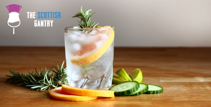 £24 for Entry for 1 to The Scottish Gantry Gin Tasting in Glasgow on Saturday 22nd June