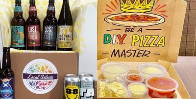 DIY Pizza & Drinks Sets from The Start-Up Drinks Lab; from £17.99