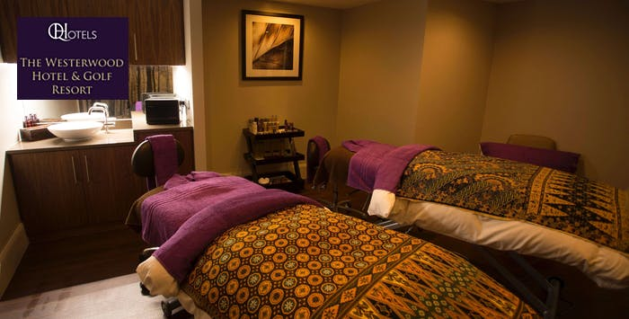 £59 for a Spa Day with Rasul Treatment, Afternoon Tea + Use of Leisure Facilities for 2