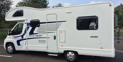 3 or 7 Night Hire of Luxury Motorhome with up to 6 Berths, from £249