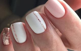 Gel Polish Mani or Pedi