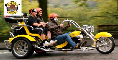 Trike Tour including Photoshoot for 2, from £99