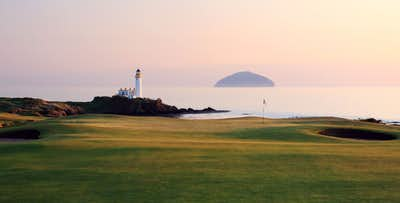 £79 for a Golfer's Day Out for 2 including Golf Clinic and 9 Hole Round on the Arran Course