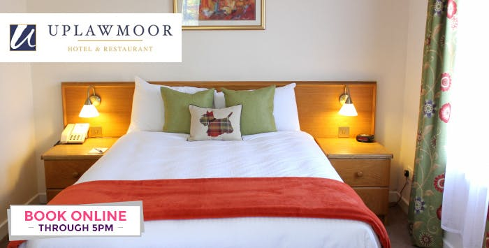 £75 for an Overnight Stay with Breakfast & Dinner for 2
