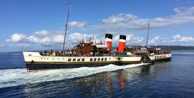 £23 for a Go Anywhere - Join Anywhere Ticket for 1 on Paddle Steamer Waverley