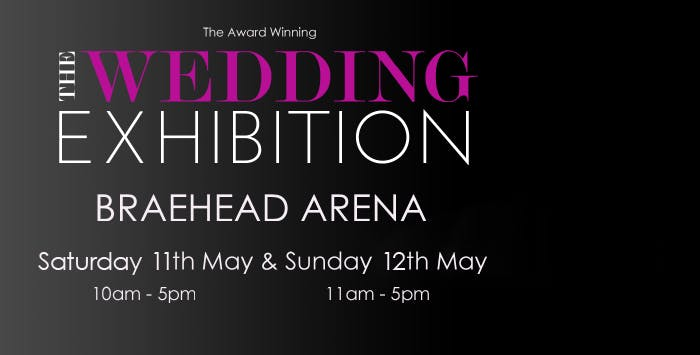 Entry to The Wedding Exhibition at Braehead Arena + Gin & Tonic for 2 or 4 People on Saturday 11th or Sunday 12th May 2019, from £10