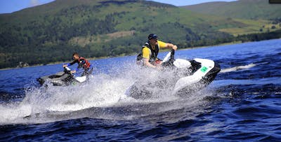 60 Mile Loch Lomond Jet Ski Trek, from £175