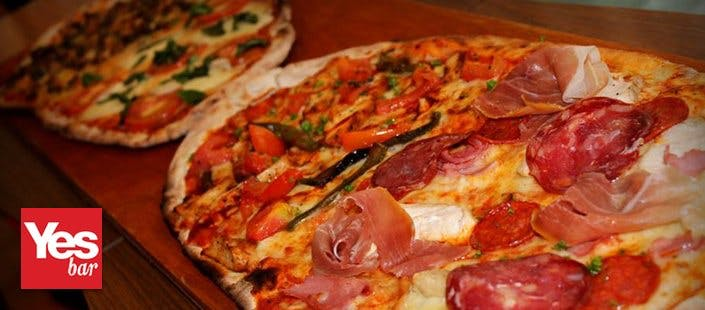 £10 for 2 Starters + a Half Metre Pizza to Share, £18 with Wine