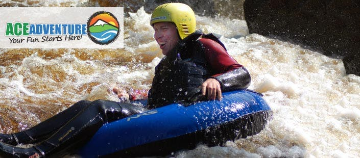£35 for a River Tubing + Cliff Jumping Experience