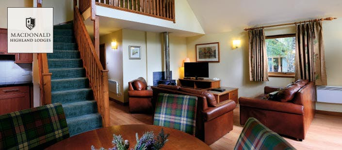 £218 for a 2 Night Mini-Break in 3 Bedroom Luxury Woodland Lodge