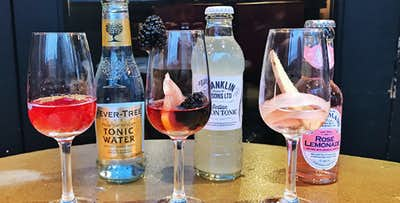 £22 for a Pink Gin Flight + Nibbles for 2