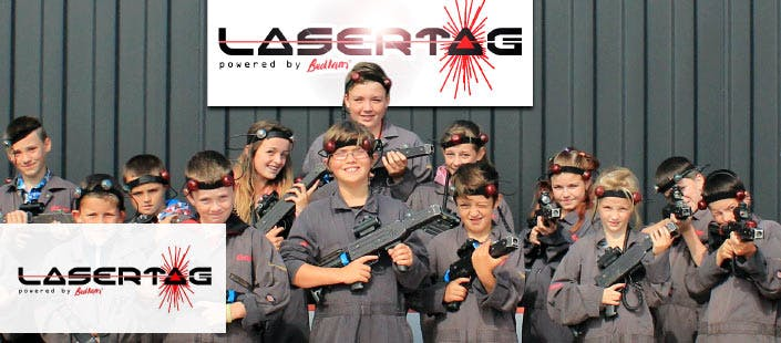 £240 for an Ultimate Laser Tag Party for up to 12
