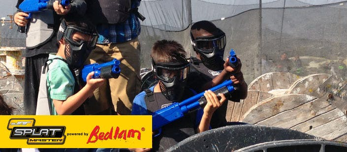 £240 for an Ultimate Kids' Paintball Party for up to 12