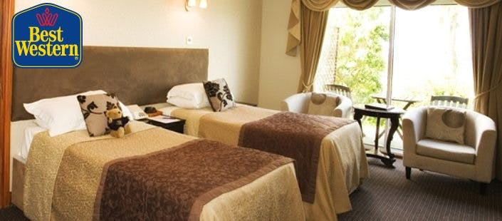 £49 for an Overnight Getaway + Cream Tea & Prosecco on Arrival for 2