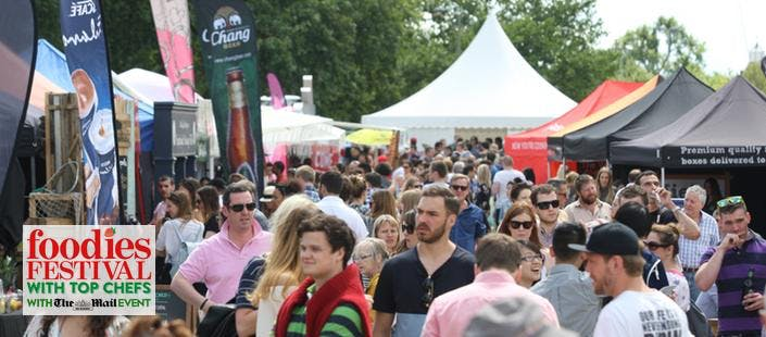 2 Foodies Festival Tickets + Show Guides, from £19