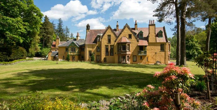 Midweek or Weekend Break with Cream Tea on Arrival for up to 5 at Leithen Lodge, Borders; from £169