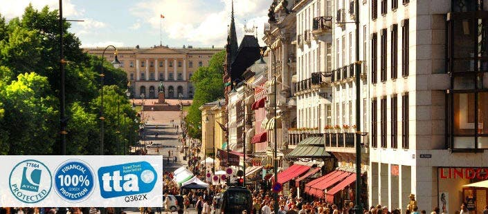 £225 for 3 Nights in Oslo with Return Flights - Low Deposit Required