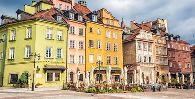 £199 for 3 Nights in Warsaw with Return Flights - Low Deposit Required