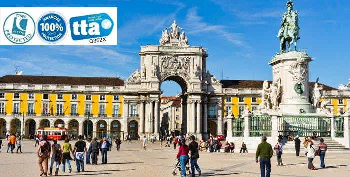 £260 for 4 Nights in Lisbon with Return Flights - Low Deposit Required