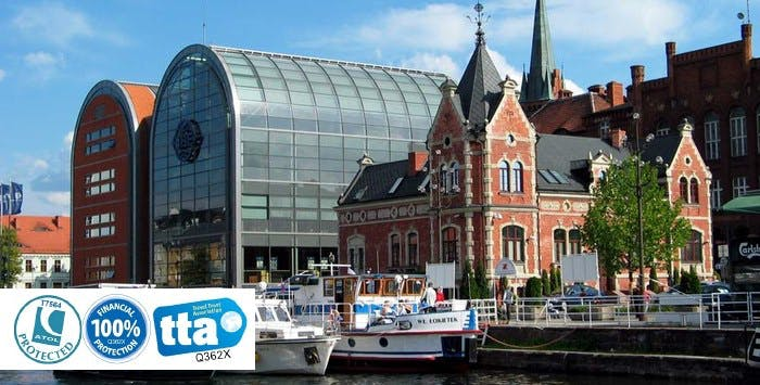 £199 for 3 Nights in Bydgoszcz, Poland with Return Flights - Low Deposit Required